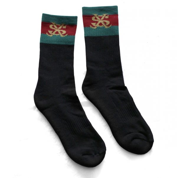 Calcetines Crazy Sect negro
