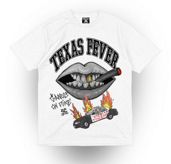 Camiseta Crazy Sect - ACAB blanca