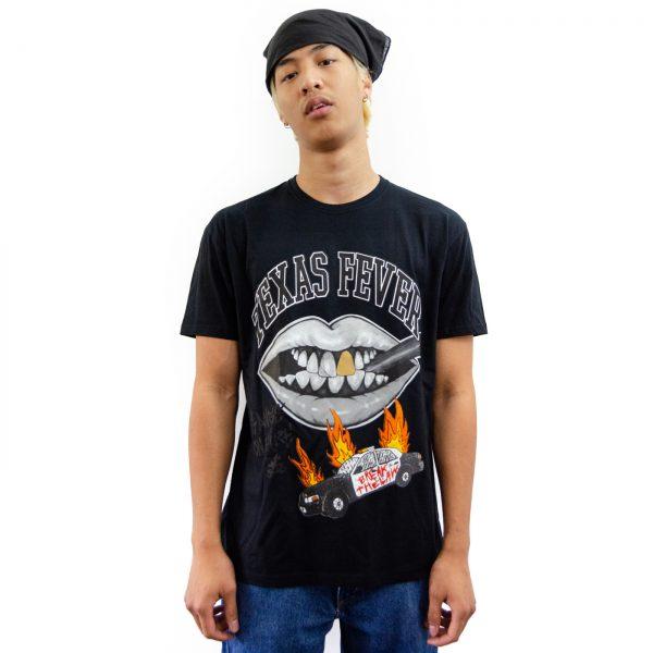 Camiseta Crazy Sect - ACAB negra