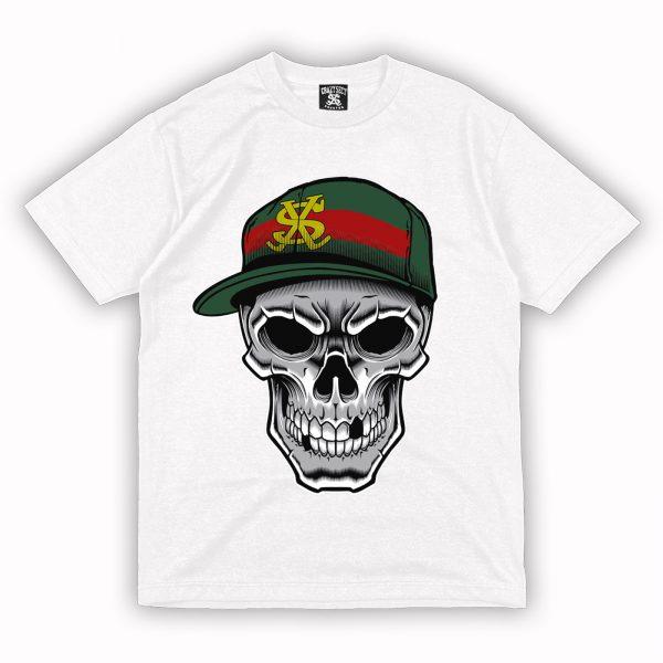 Camiseta Crazy Sect - DEAD MONEY blanco
